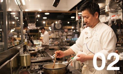 画像:山本さん・レストラン シェフ