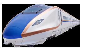 画像:北陸新幹線