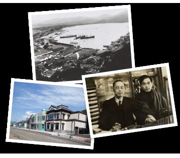 画像:歴史に刻まれた人道の港