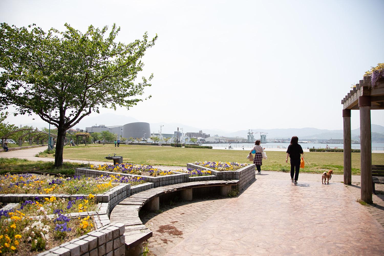 画像:金ヶ崎緑地公園
